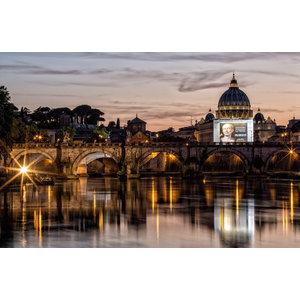 """Ponte Sant'Angelo, Rome"" Photo Print, Art Poster, 40x30 cm"