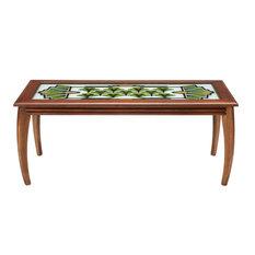 Art Deco Glass Top Coffee Table