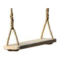 Premier Wood Tree Swing With Rope
