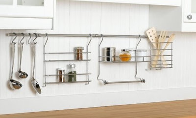 The Hanging Magic of Kitchen Wall Rail Organization