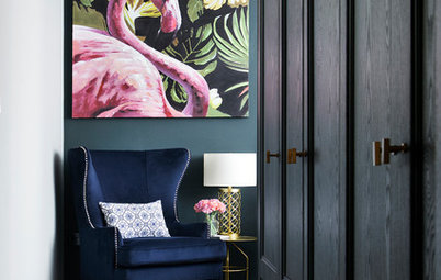 Room Tour: A Bold, Dramatic and Versatile Master Suite