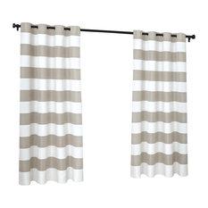 Amalgamated Textiles, USA   Cabana Stripe Grommet Top Curtain Panels, 54 Part 80