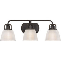 Bath Fixture 3-Light Plld Bronze