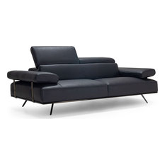 Adrian Sofa - Black Leather