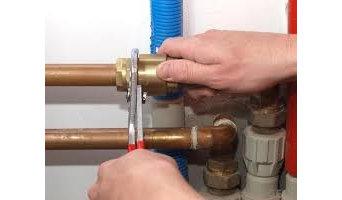 Installation of plumbing system
