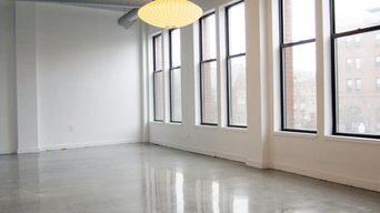 Polished Concrete Floor in Boston Loft