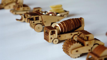 Construction Vehicle Fleet Kits - Build Your Own