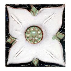 "Medieval Floral Tiles, 4""x4"", Toronto"