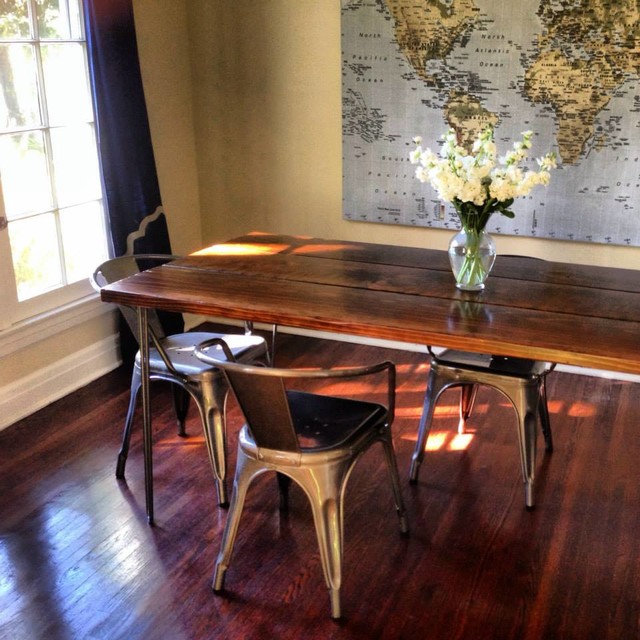 6ft Hairpin Leg Dining Table