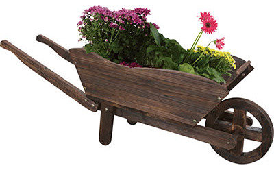 Garden Wagon Planters   Outdoor Power Equipment