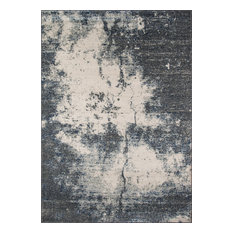 "Loft Loomed Rug, Gray, 9'3""x12'6"""
