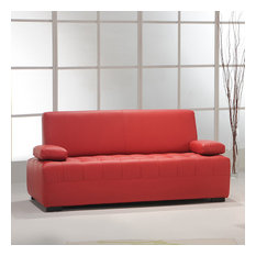 Eva | 3 seater sofa | Living room sofas | Red Chilly