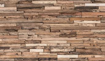 Reclaimed Wood Tiles, Wheels, 10.76 Sq.Ft