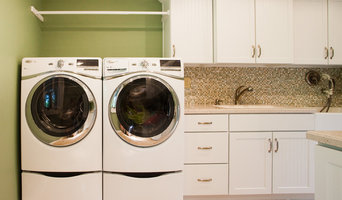 Laundry Room by Case Design/Remodeling