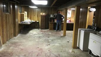 Basement clean out. Fire Hazard