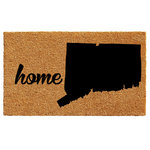 """Calloway Mills - Connecticut Doormat, 24""""x36"""" - Made of natural coir, a dense fiber that is naturally mold and mildew resistant.  Coir is a renewable resource that is durable and coarse, excellent for scraping shoes clean.  Vinyl backed for increased durability and to help prevent movement, coir doormats are weather tolerant absorb moisture and retain their shape.  For best results keep in a sheltered area such as a covered porch, keeping extreme moisture and sunlight to a minimum.  Vacuum, sweep or lightly hose clean."""