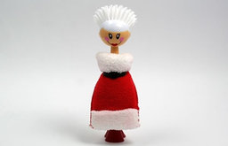 Mrs. Claus Kitchen Brush and Sponge Set