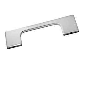 Cabinet Handle, Polished Stainless Steel
