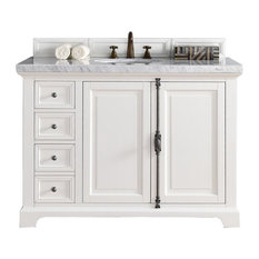 "Providence 48"" Cottage White Single Vanity"