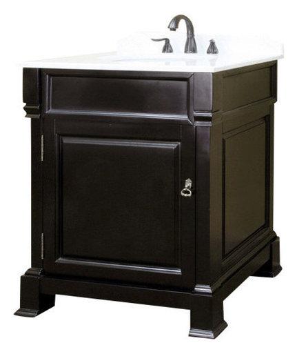 Bellaterra 30 Quot Single Sink Vanity Solid Wood Espresso
