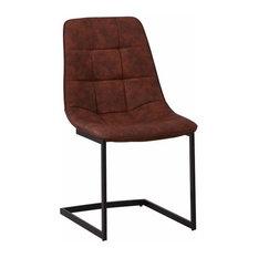 Hero Dining Chair, Vintage Cognac