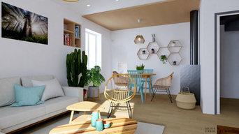 Aménagement d'intérieur - Salon et salle à manger