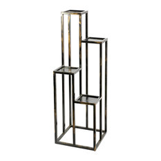 "47.25"" 4-Tier Cast-Iron Plant Stand"