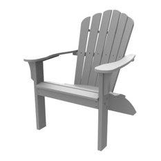 Harbor View Adirondack Chair, Gray