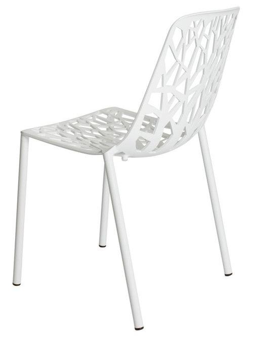 Forest Stol Stapelbar, Vit - Spisebordsstole
