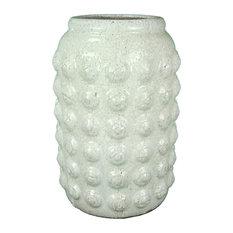 Ceramic Vase, White