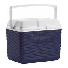 Rubbermaid 10 Quart Modern Blue Personal Cooler