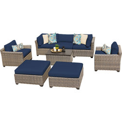 Tropical Outdoor Lounge Sets by Design Furnishings