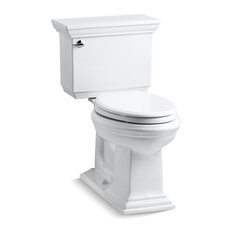 Kohler - Memoirs Stately Comfort Height 2-Piece Elongated 1.6 GPF Toilet, White - Toilets