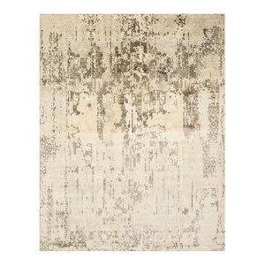 Studio Seven Hand Loomed Area Rug, MIR551A, Ivory/Grey,  9' X 12'