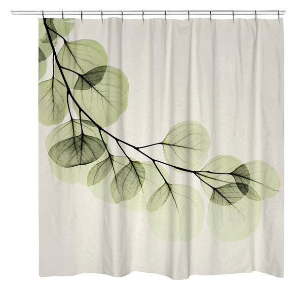 Eucalyptus Shower Curtain Contemporary Shower Curtains
