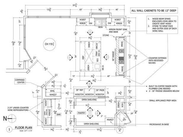 Floor Plan by Plain and Posh
