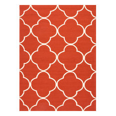 Jaipur   Extra Large Red Barcelona Sparten Outdoor Rug   Outdoor Rugs