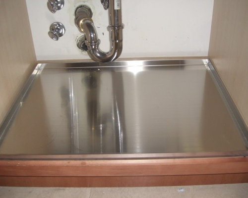 kitchen sink cabinet tray protect your sink base cabinet with trays 22019