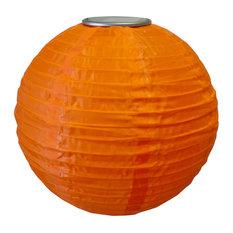 Soji LED Solar Lanterns, Orange