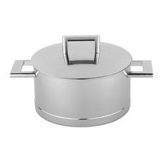 Demeyere John Pawson 4.2-qt Stainless Steel Dutch Oven