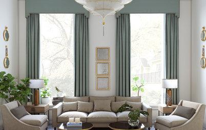 Вопрос: Как рассчитать размер штор на окно
