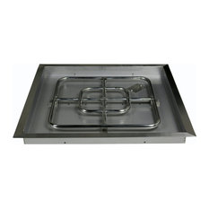 "Square Drop-in Burner Assembly, 30""x30"""