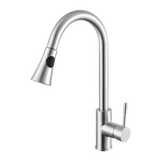 Pull-Out Kitchen Faucet, Chrome
