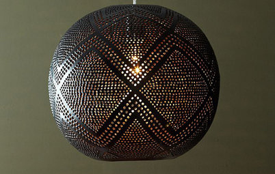 On Trend: Globe Lights Give Rooms a Well-Rounded Look