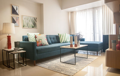 Houzz Tour: This One-Bedroom Mumbai Flat Is a Dream Come True