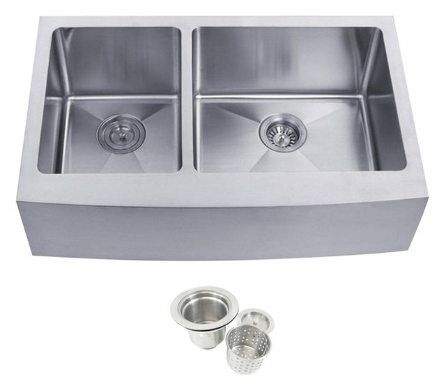 Stainless Steel Double Bowl Kitchen Sinks Stainless steel undermount farmhouse 4060 double bowl kitchen sink stainless steel undermount farmhouse 4060 double bowl kitchen sink workwithnaturefo