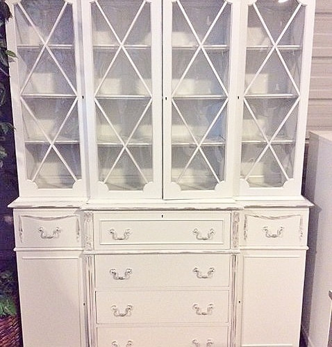 t a the with confessions cabinet didn light distressing on just of go duck sanding hutch and white too china egg serial blue i do crazy