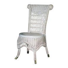 Classic Side Chair in White