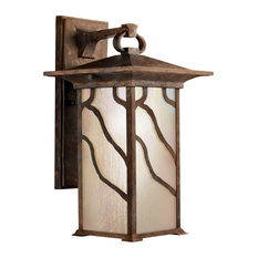 """Kichler 9031 Morris Collection 1 Light 15"""" Outdoor Wall Light - Distressed"""