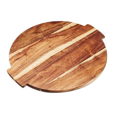 Artesa Acacia Wood Lazy Susan Serving Platter